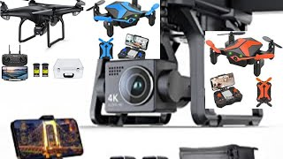 Potensic D58, FPV Drone with Camera, 5G WiFi HD Live Video, GPS Auto Return, RC Quadcopter for Adult