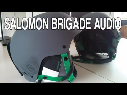 Review casco Salomon Brigade Audio