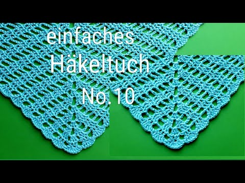 3 Tuch Häkeln Muster Cloth Scarf Youtube Download