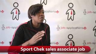 Sport Chek Sales Associate Job