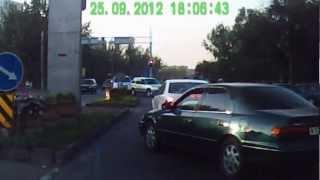 быдло на дороге 25.09.2012