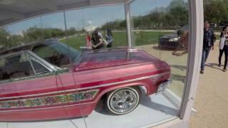 East coast Lowriders visiting Gypsy Rose in Washington DC 4-14-17