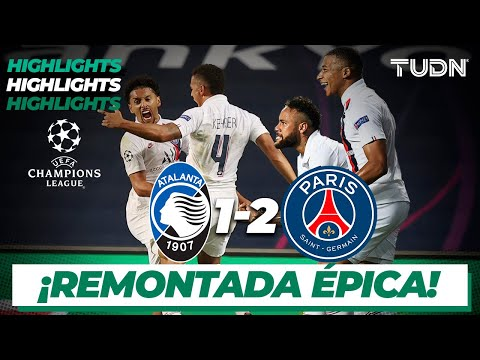 Highlights | Atalanta 1-2 Paris SG | Champions League 2020 – 4tos final | TUDN