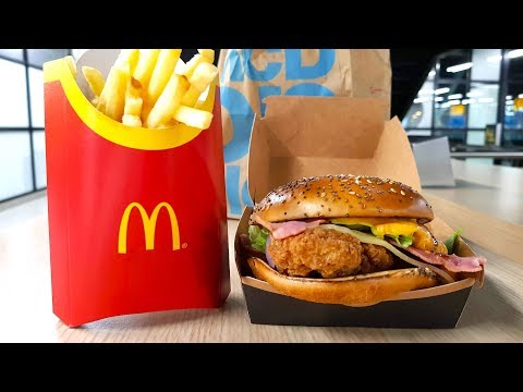 *NEW* McDonalds HomeStyle Crispy Chicken | Fast Food Review