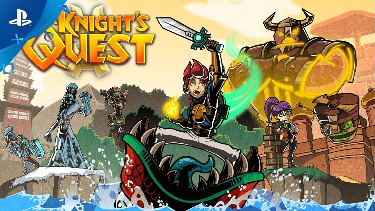 Epic Old-School Adventure A Knight's Quest Hits PS4 Today
