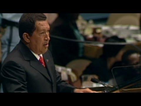"""Chavez all'ONU 10 anni fa: l'imperialismo americano e la """"ricetta del diavolo"""""""
