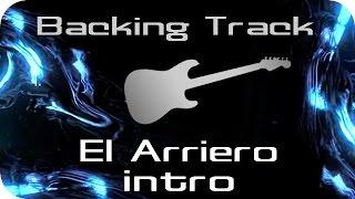 El Arriero Intro (Divididos) / Backing Track para Guitarra