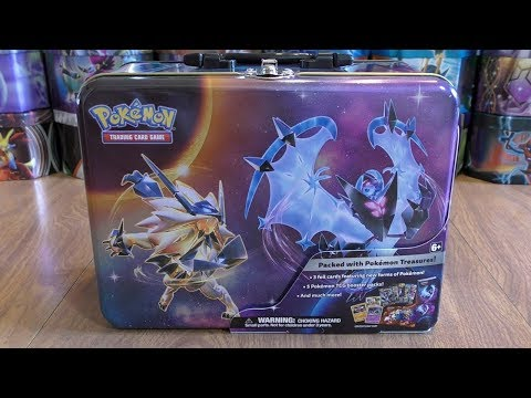 Pokemon Collector's Chest Opening