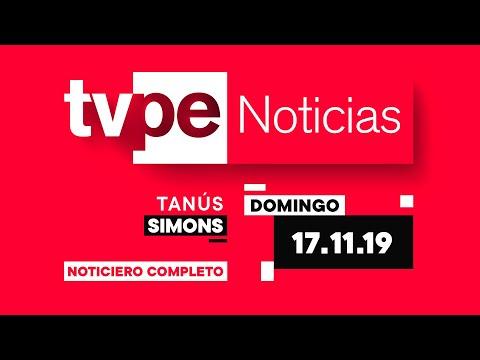 Actualiza tu información en TVPerú Noticias con Tanús Simons