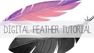 Photoshop Feather Tutorial