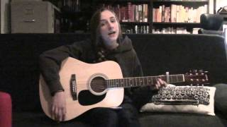 Renee K performing Et Les Mots Croisés by Dan Mangan