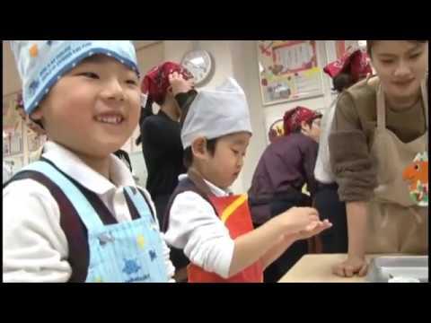 帝塚山幼稚園:年中 パン作り/食育