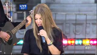 Fergie - Big Girls Dont Cry Live HQ (good morning america 05-25-07)