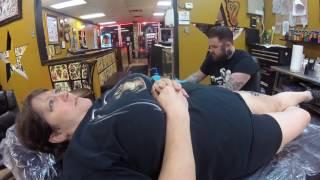 In The Tattoo Shop: Grim Reaper Tattoo