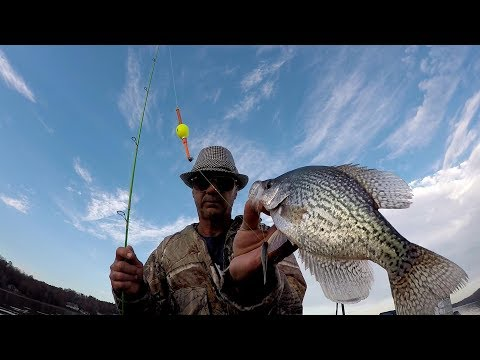 How To Rig A Slip Bobber For Crappie Fishing