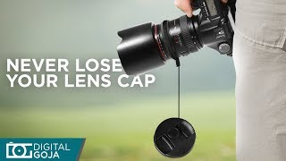 Lens Cap Keeper Holder by Altura Photo| Never lose your lens cap again
