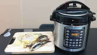 SILVERCREST Electric Pressure Cooker SSM 1000 A1 Unboxing Testing