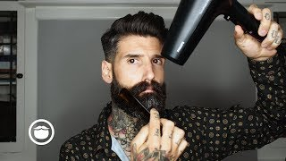 How I Style my Beard at Home | Carlos Costa