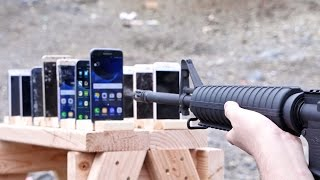 Which Phone Is More Bulletproof Samsung Galaxy Vs IPhone