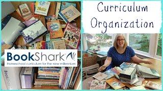 Homeschool Curriculum Organization || BookShark