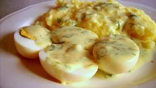 Jajka w sosie musztardowym / Sos musztardowy