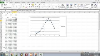 Excel - Fitting Data To Curve