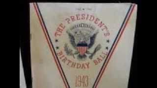 100th VIDEO on CALIFORNIA PICKIN(TM)!!! A Super-rare 1943 FDR BIRTHDAY Program plus!