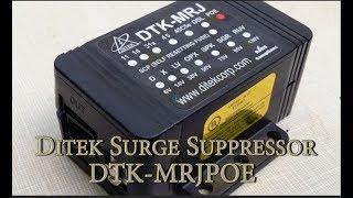 Ditek POE Surge Protector -  DTK-MRJPOE