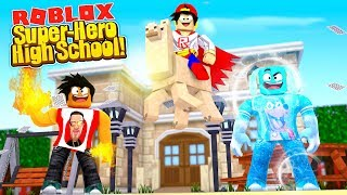ROBLOX - SUPER-HERO HIGH SCHOOL!!!