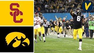 #22 USC vs #16 Iowa Highlights | 2019 Holiday Bowl Highlights | College Football