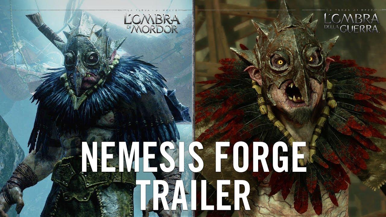 L'Ombra della Guerra - Nemesis Forge Trailer
