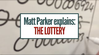 Matt Explains: The Lottery [featuring: Choose Function, Infinite Geometric Series]