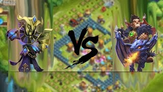 Castle Clash Dracax VS Immortep