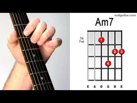 Am7 ♫♬ Play Electric Guitar Chords