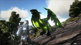 ARK: Survival Evolved - Đi bắt Rồng Drake và khủng long Giganotosaurus Warden =))