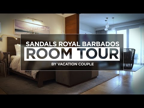 Sandals Royal Barbados Room Tour - Butler Suite