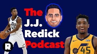 Donovan Mitchell on His Rookie Season, NBA Cities, and Desire to Give Back   The J.J. Redick Podcast