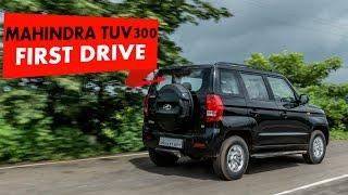 Mahindra TUV 300 : First Drive : PowerDrift
