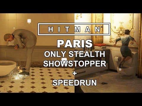 PAŘBA V PAŘÍŽI! - Hitman 2016 - Paris - Only stealth + Speedrun (2:02)