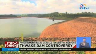 Board reverses controversial Thwake Dam tender award - VIDEO