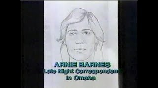 The Arnie Barnes Collection on Late Night, January-September 1986