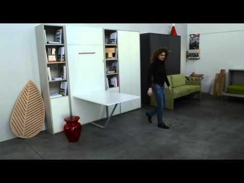 lit escamotable nantes sur mesure rangeocean. Black Bedroom Furniture Sets. Home Design Ideas