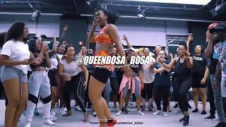 Mayorkun Ft. Kizz Daniel   True (Official Dance Class Video) QueenBosa Bosa