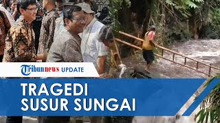 Menko Polhukam Mahfud MD Datangi SMPN1 Turi dan Korban Tragedi Susur Sungai Sempor, Sleman, DIY