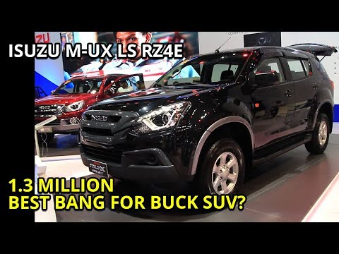 2019 Isuzu MuX review / in depth tour /1.9 RZ4E LS 4x2 base model (Philippines)
