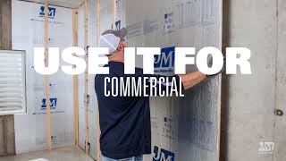 JM Foam Boards / Sheathing Video