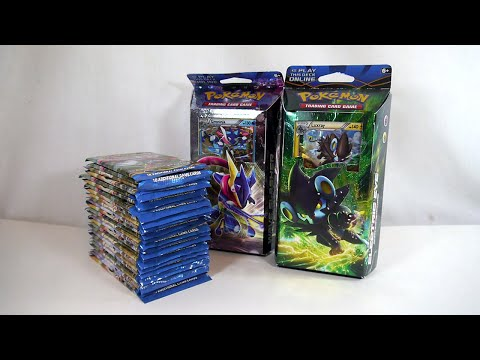 Unboxing: Pokémon TCG - XY: BREAKpoint Booster Packs and Theme Decks