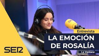 """La emoción de Rosalía al escuchar lo que despierta 'El Mal Querer': """"Casi lloro"""""""