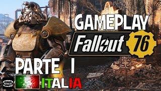 FALLOUT 76 ☢ 1 ORA DI FULL GAMEPLAY Multiplayer & PvP ⚔ Parte 1 - Fuori dal Vault - ITA