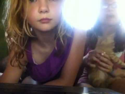 Me and my little sister being bored playing with our kitty [4:47x360p]
